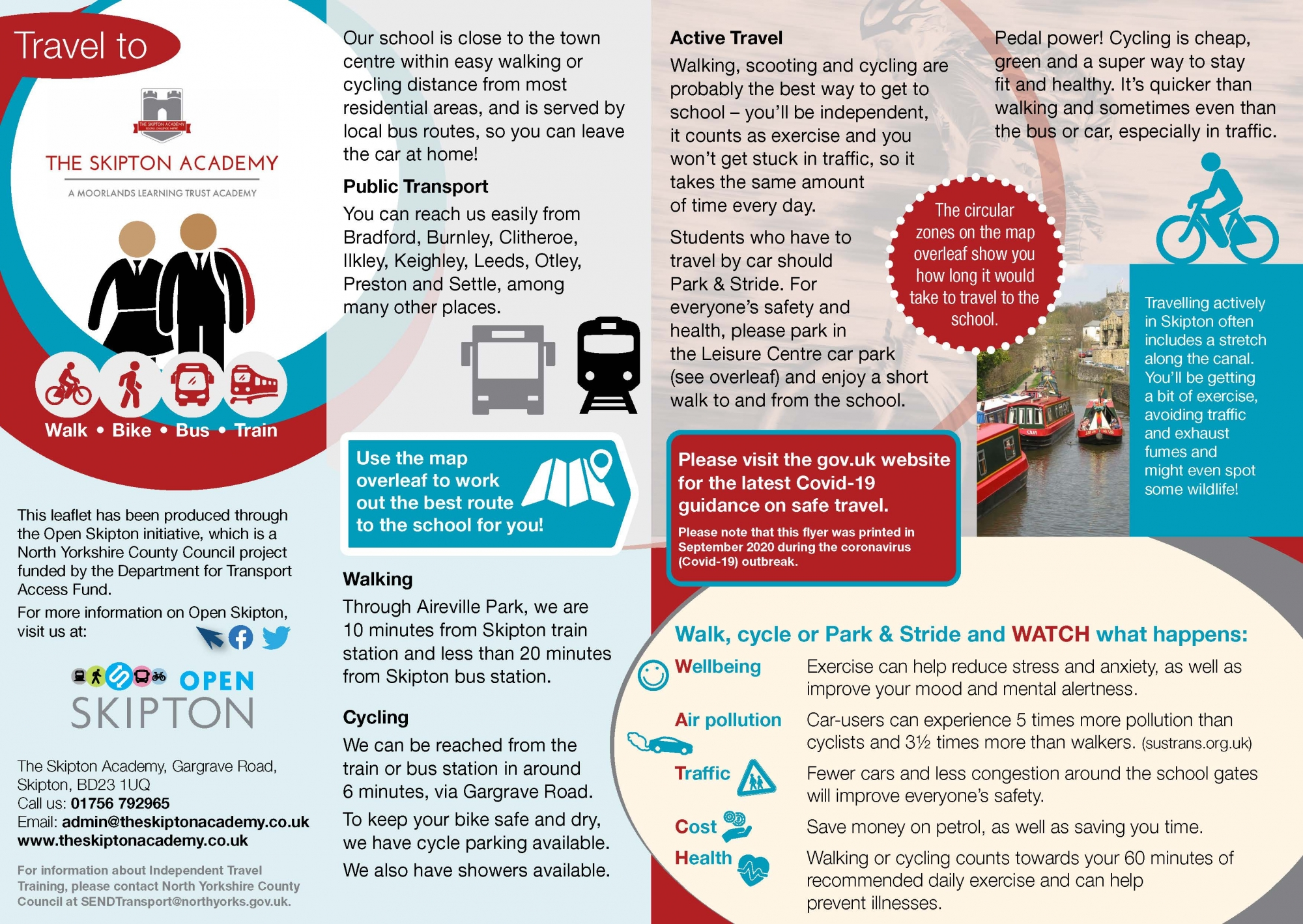 80772_Skipton Academy Travel Leaflet for website - with Covid reference_Page_1